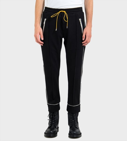Contrasting Trim Track Pants