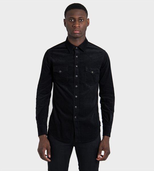 Corduroy Western Shirt