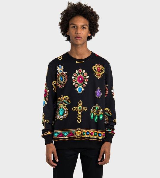 Diamond Print Sweater