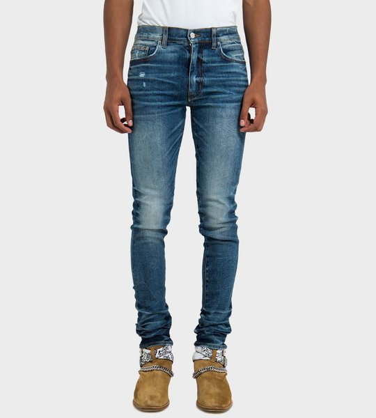 Stack Jean Dark Crafted Indigo