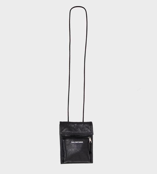 Explorer Strap leather Pouch
