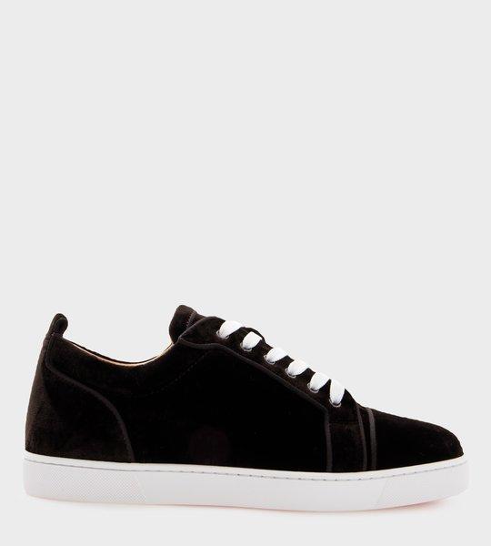 Louis Junior Orlato Velvet Sneakers