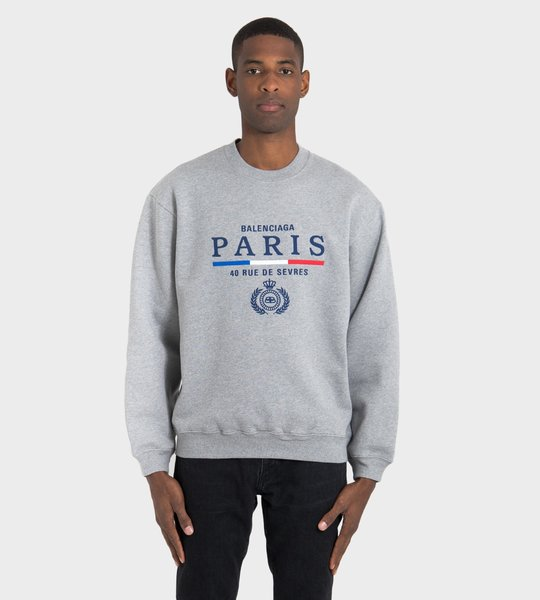 Paris Street Crewneck Sweater