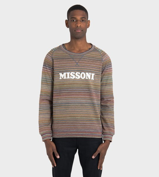 Multicolor Crewneck Sweater