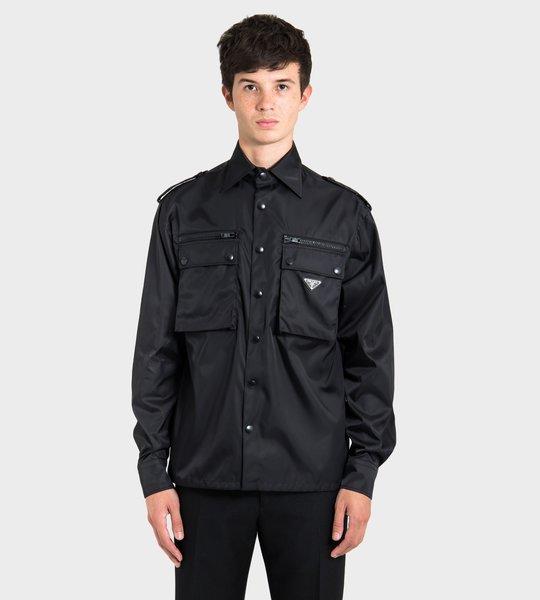 Nylon Gabardine Shirt