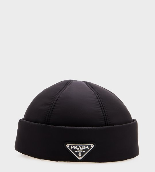 Padded Nylon Hat