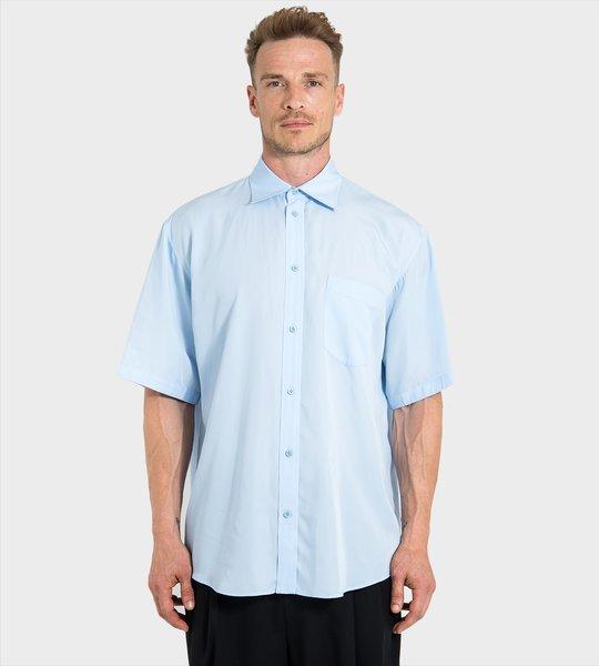 Brushed Short-Sleeved Shirt