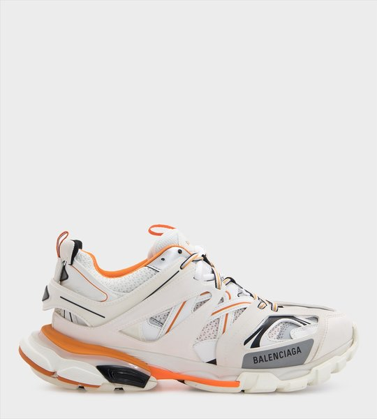 Orange Detail Track Sneakers
