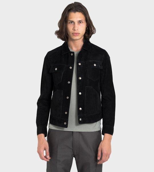 Cashmere Suede Western Jacket