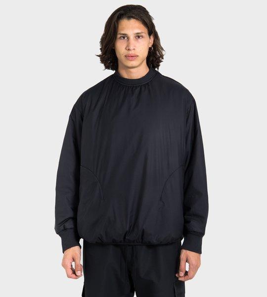 Nylon Crewneck Sweater