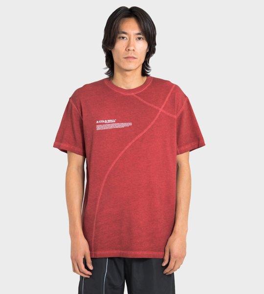 Red Mission Statement Shirt