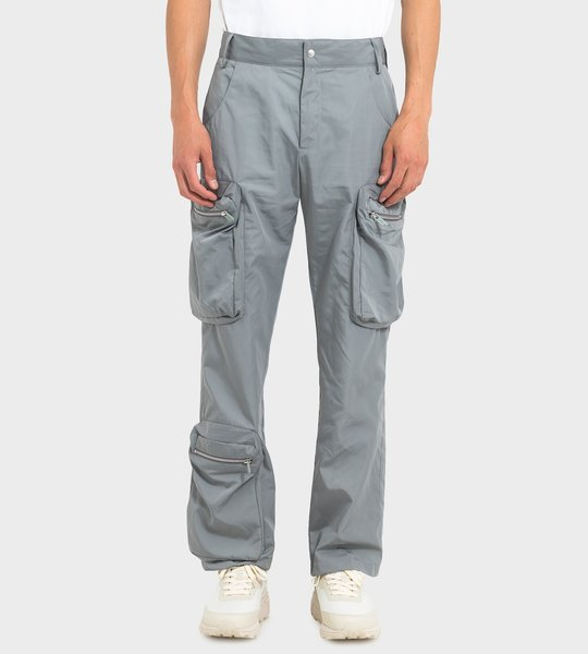 Brushed Sage Utility Trousers
