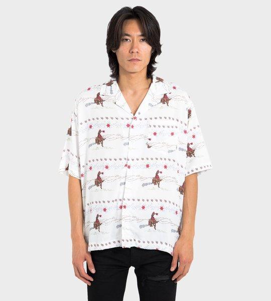 Symmetrical Printed Shirt