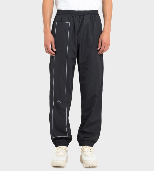 Reflective Brand-Print Shell Jogging Bottoms