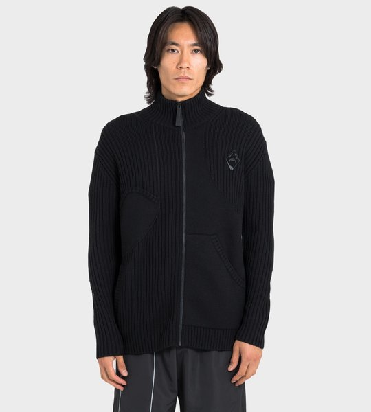Merino Zip-Up Sweater