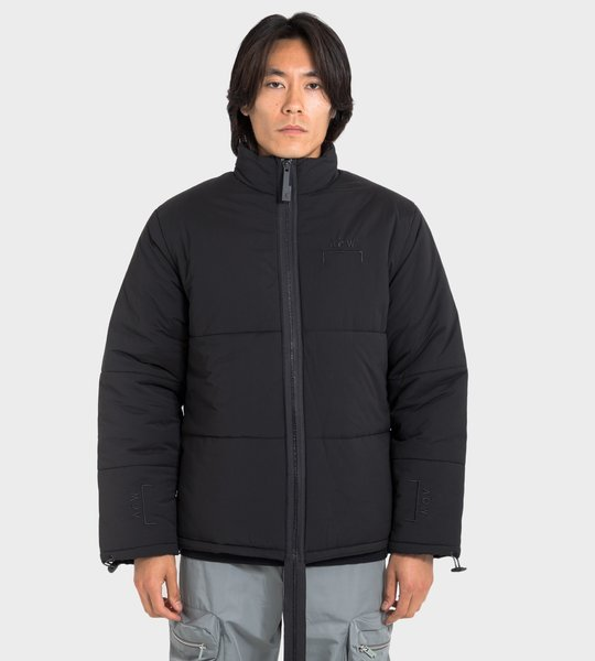 Zipped Puffer Jacket