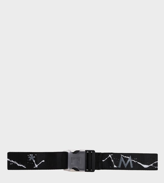 Cracked Print Nylon Webbing Belt
