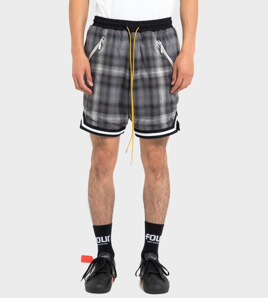 Plaid Basketbal Shorts