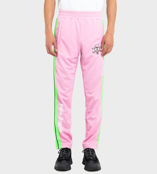 Ice Cream Track Pants Pink