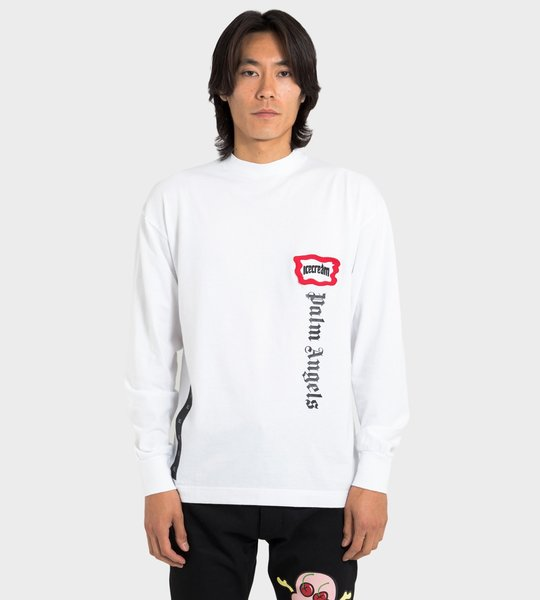 Ice Cream Longsleeve White