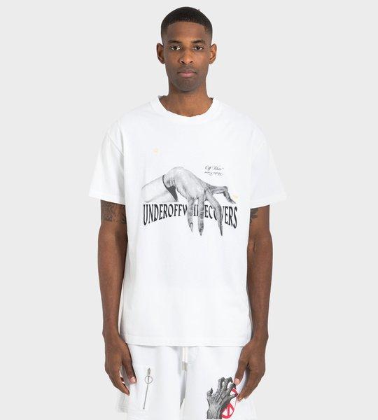 White Hand Dart  S/S T-Shirt