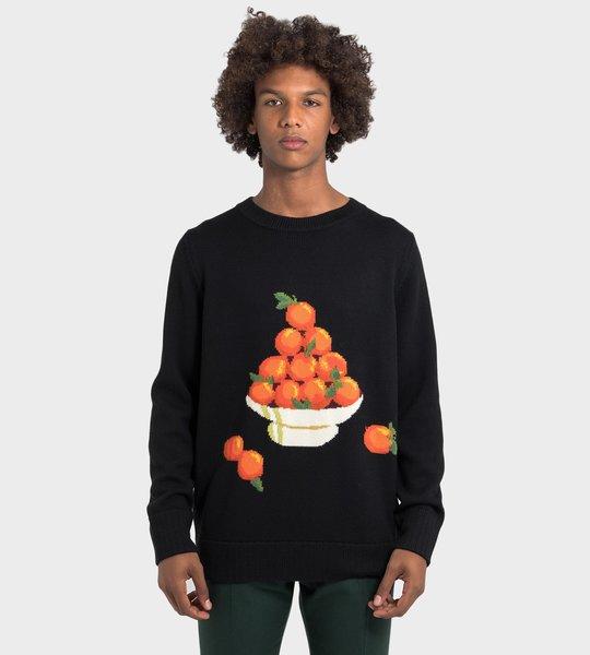 Orange Pyramid Crewneck
