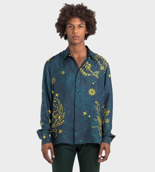 Constellation Silk Shirt