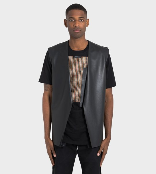 Blaz Leather Vest