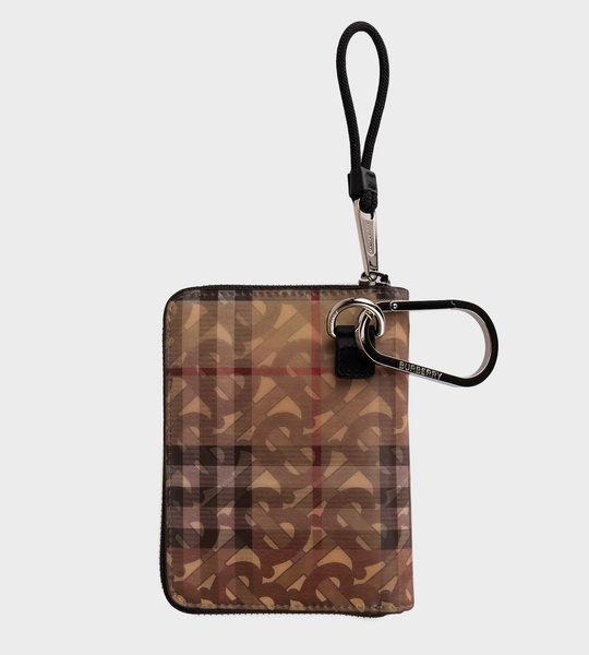 Zipped Wallet Monogram