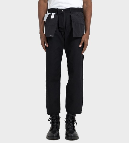 Inside Out Jeans Man Black