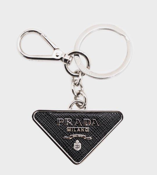 Saffiano Key Ring