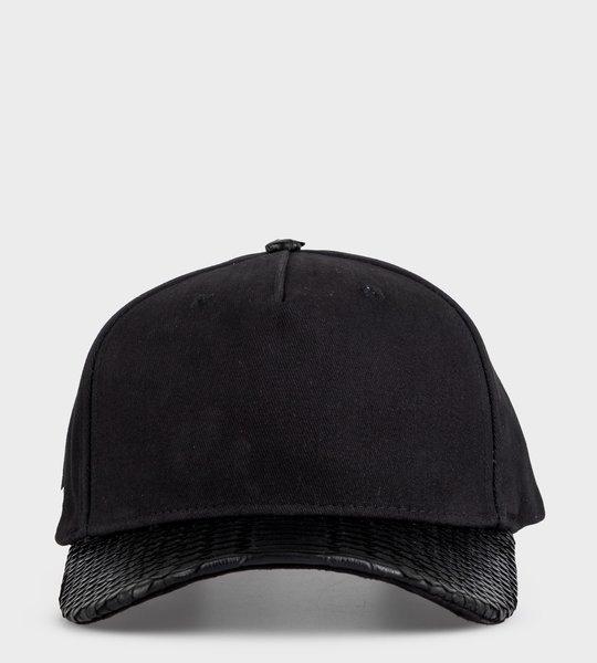 Black Python  Cap