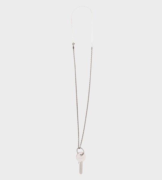 Key Pendant Silver Necklace
