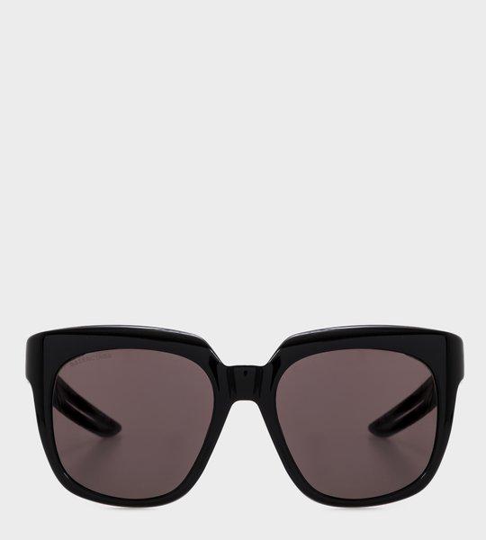 D-frame Sunglasses Black