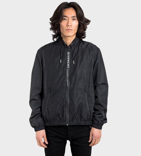 Logo Zip-Front Jacket