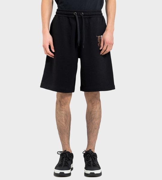 Logo Graphic Cotton Drawcord Shorts