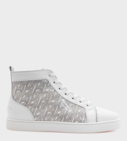 Louis Orlato Sneaker Logo-Print White