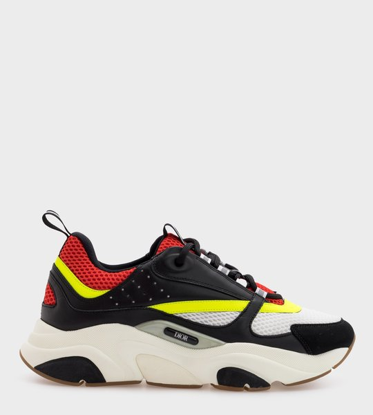 B22 Black, red and Yellow Sneaker
