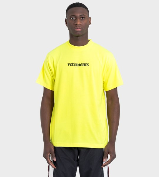 Postage Yellow T-Shirt
