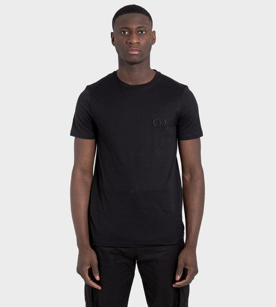 'CD ICON' Logo Cotton T-Shirt