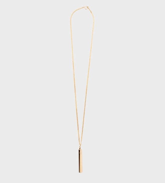 Vetements Snuff Necklace Gold