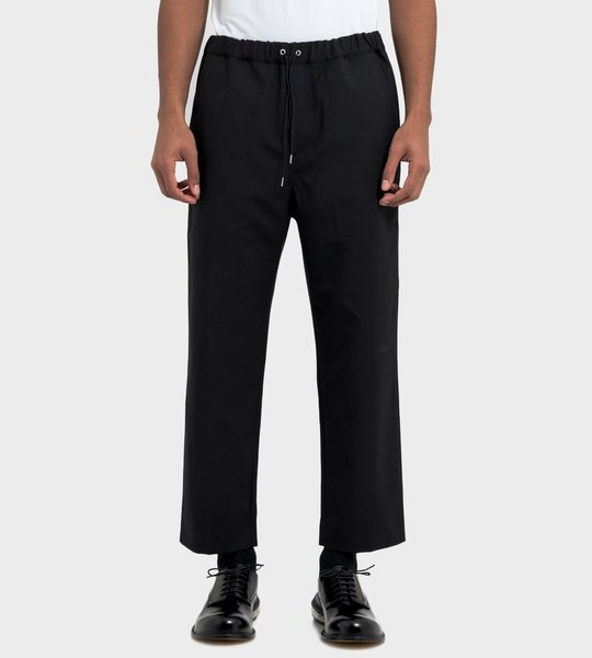 Wool Drawcord Pants