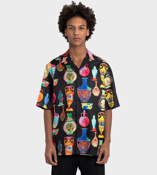 Print Silk Shirt