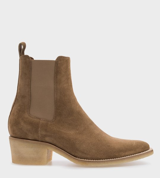 Amiri Fango Pointed Toe Ankle Boots