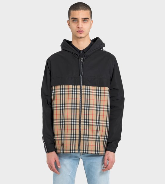 Hooded Jacket Check