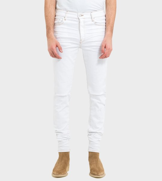 Ribbed Skinny Fit Jeans