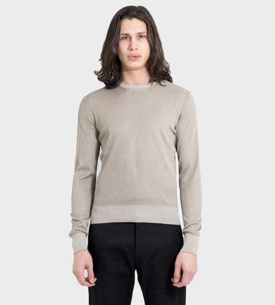 Slim-Fitted Crewneck