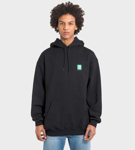 Green Logo Hoodie