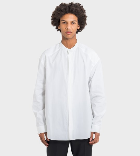 Cotton Shirt White On White