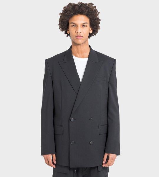 Jacket Black On Black